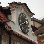 Йозефов. Часы на еврейской ратуше