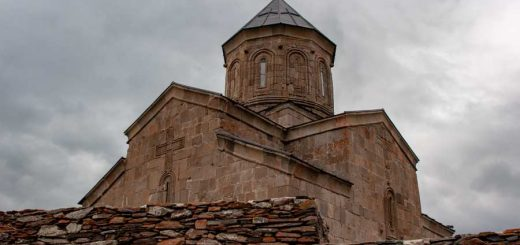 Храм Гергети, Грузия
